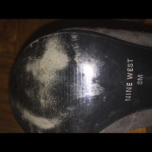 Aldo black pump size 8